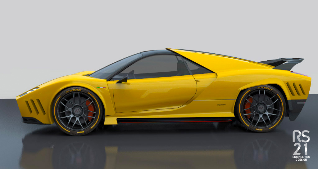 Car Mantis colour yellow
