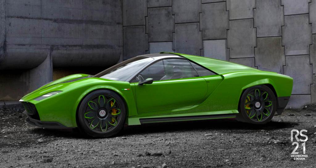 Car Mantis - design